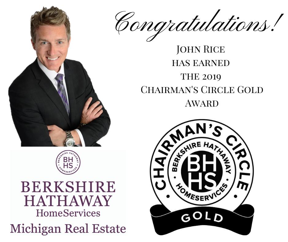 award winning agent | REAL ESTATE SERVICES by JOHN RICE REALTOR  616-951-4663 BHHSMI MICHIGAN REAL ESTATE