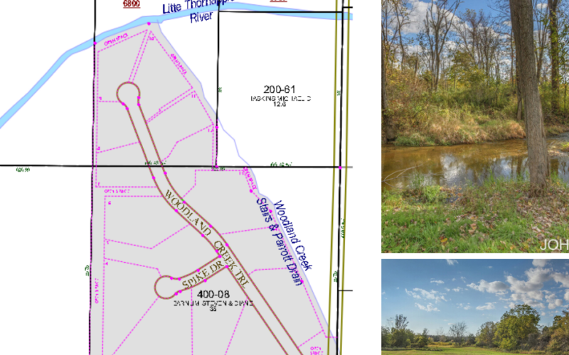 Prime Development 15 Multi-Acre Sites – 1-15 Woodland Creek Trail