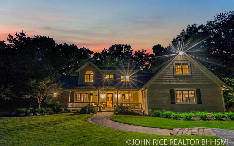 For Sale: Thornapple River Front Forest Hills 5 Bedrooms 3.5 Baths 1.75 Acre Lot